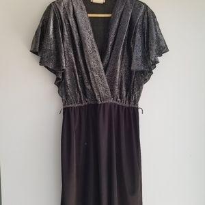 vintage Eaton shimmer dress